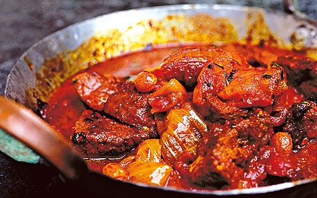 tagine of lamb with apricots recipe by Nigel Slater - Telegraph