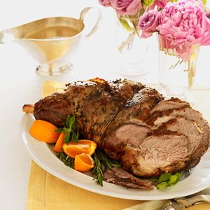 Roasted Leg of Lamb Recipe - Good Housekeeping