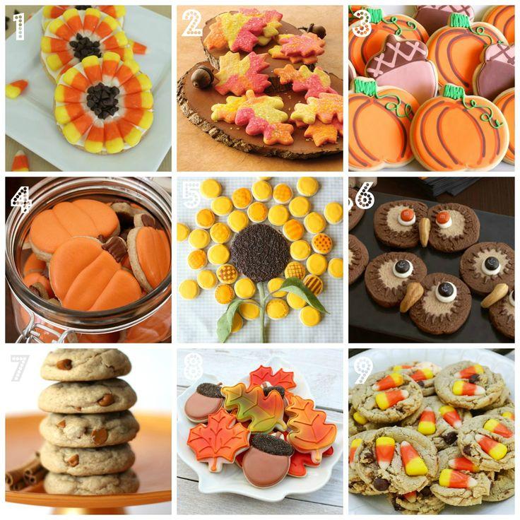 Fabulous Fall Cookie Recipe Ideas • CakeJournal.com
