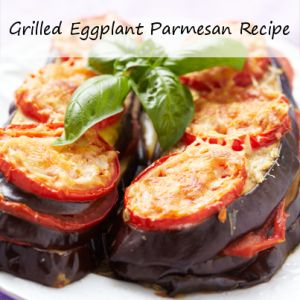 Mario Batali showed us his Grilled Eggplant Parmesan Recipe & his ...