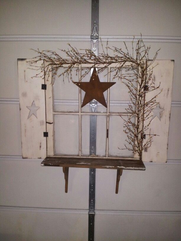 old window shelf things to make pinterest