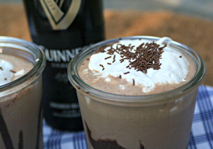 Guinness Chocolate Milkshake | Beverages | Pinterest