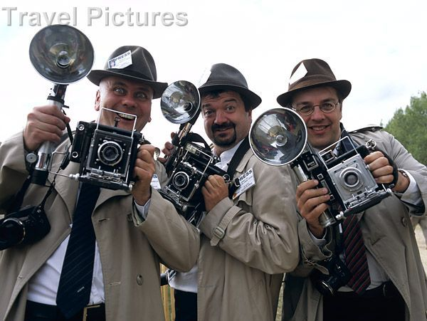 Old Hollywood Photographers with vintage Cameras that actually work!  So much fun for guests to take pictures home!