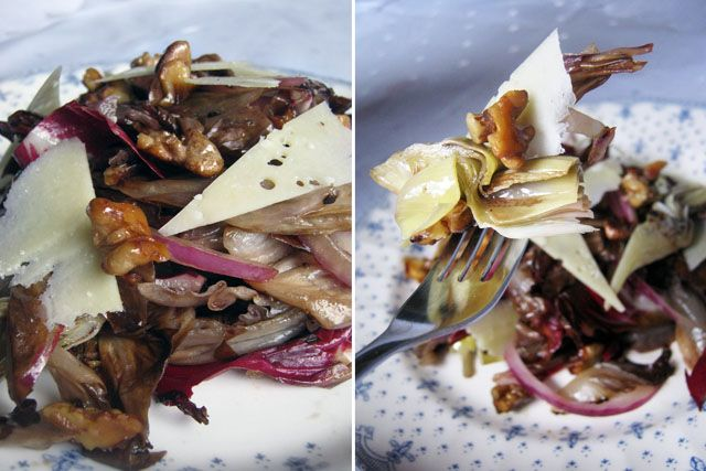 grilled radicchio salad stephen osman los angeles times grilled ...