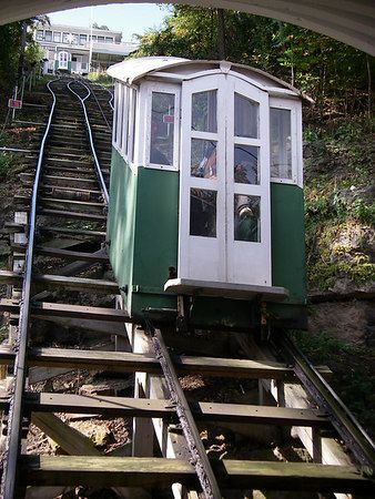 Dubuque Iowa, Incline Railway    Yes, we always ride it up and down when we visi