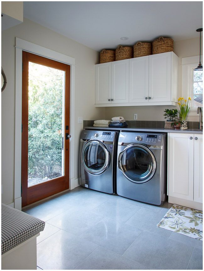 light bright laundry mudroom combo favorite places spaces pi