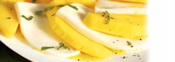 Salad - Mango Caprese Salad | Salads!! | Pinterest
