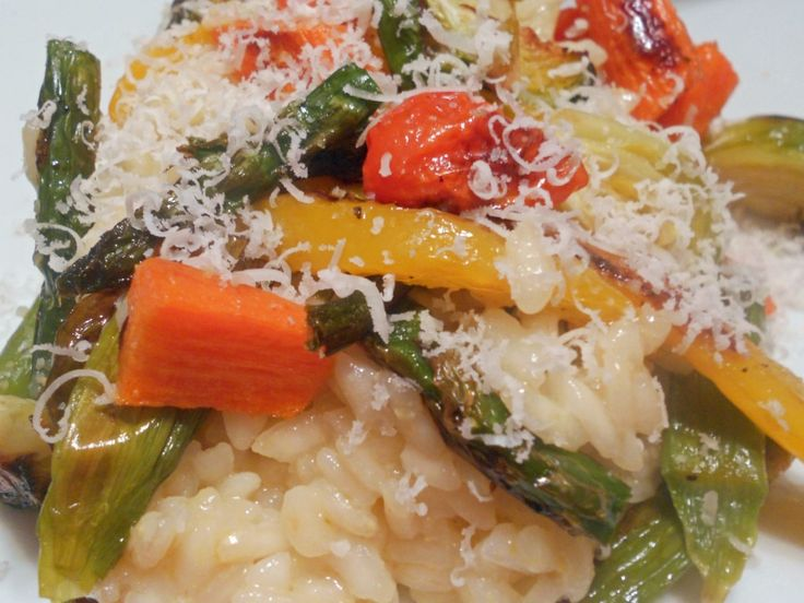 spring vegetable herbed risotto recipes dishmaps roasted spring ...