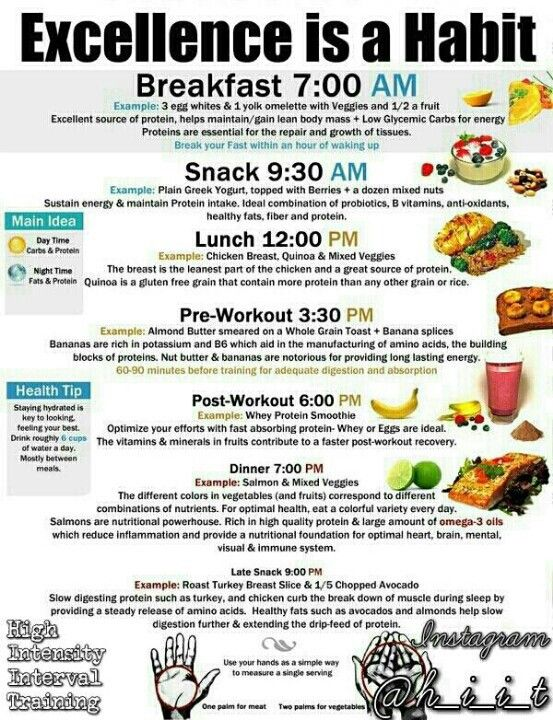 Easy menu ideas for clean eating | Clean Eating | Pinterest