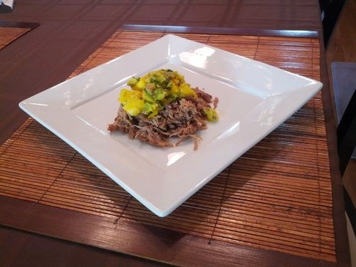Slow Cooked Jerk Pork with Caribbean Salsa | Expanding My Food ...