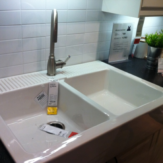 cleaning ikea farmhouse sink. Black Bedroom Furniture Sets. Home Design Ideas