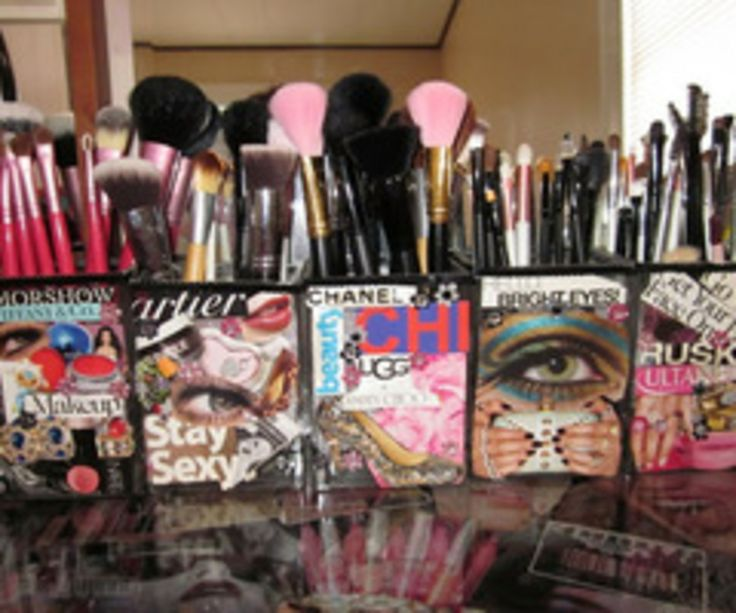 Cute Ways To Organize Your Makeup Your Face Is A Canvas