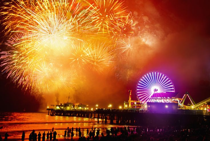 los angeles fireworks july 4th 2011