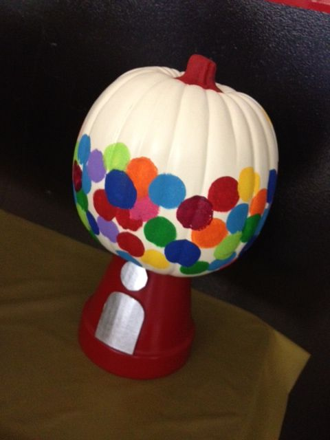 gumball machine pumpkin