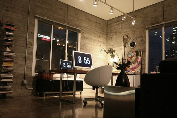 More office most beautiful home offices pinterest for Most beautiful office design