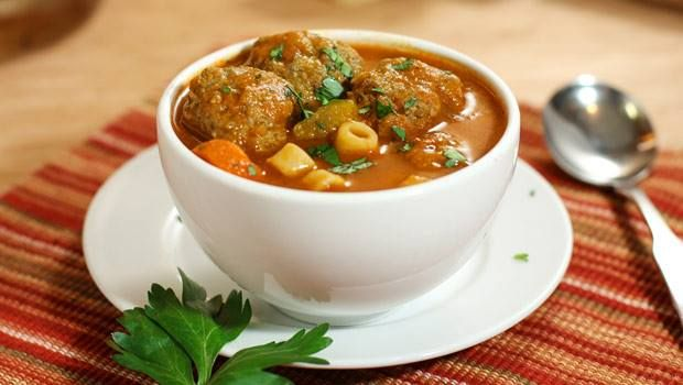 Light Italian Wedding Soup Recipe — Dishmaps