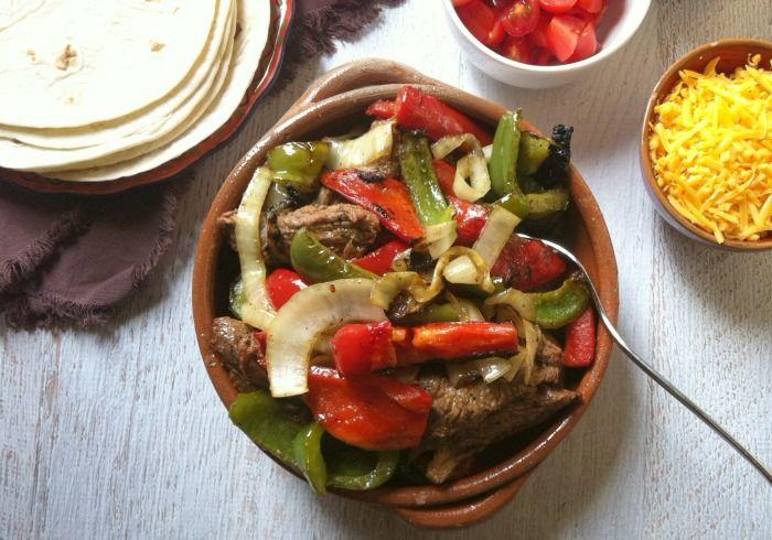 Grilled Steak Fajitas: juicy marinated steak make perfect fajitas. Let ...