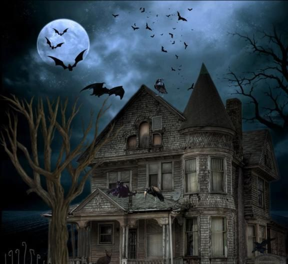Halloween haunted house halloween is pinterest for Pinterest haunted house