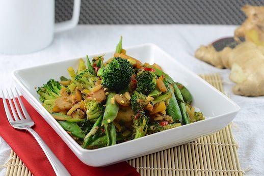 Broccoli Stir Fry (vegan) 1 | Food: Asian. | Pinterest