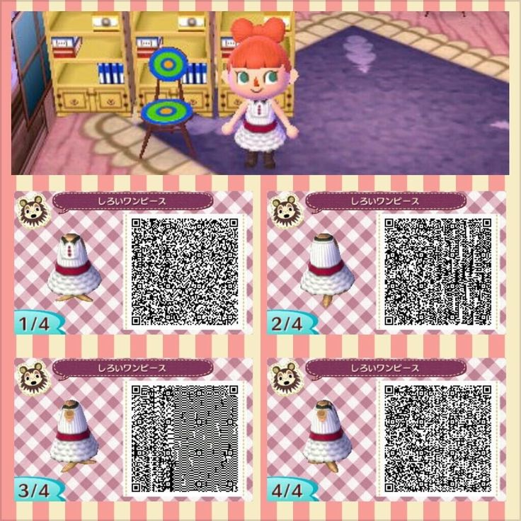 Acnl Qr Code Leather Jacket Pink Dress 2 Animal Crossing