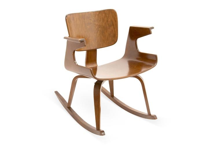 thonet bentwood rocker chair