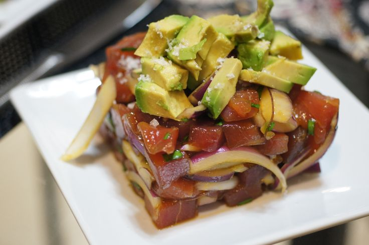 Ahi Poke Salad | FOOD | Pinterest