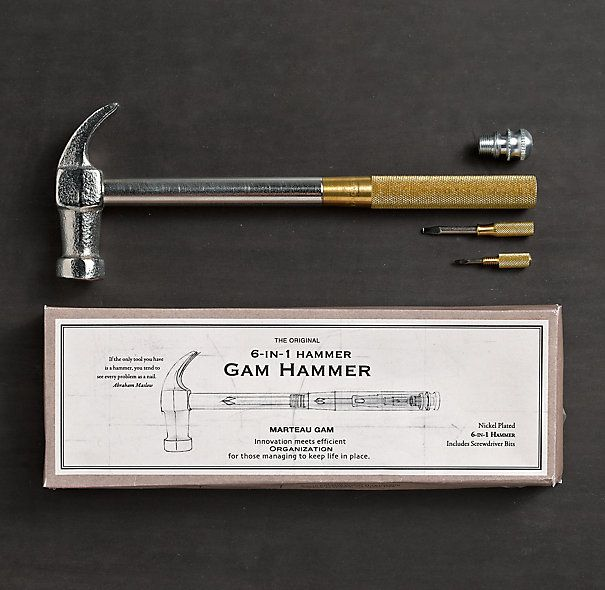 Gam 6-in-1 Hammer $20  Cute & Functional