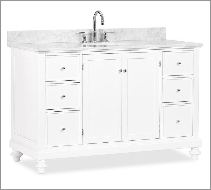 Wonderful Bathroom Vanities Amp Sink Consoles  Pottery Barn