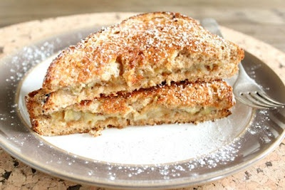 Caramelized banana sandwich | Treats & Recipes | Pinterest