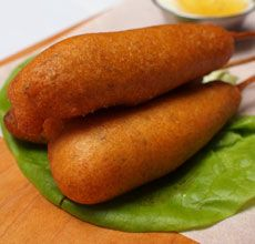Delicatessen Merguez Sausage Corn Dogs | Recipes to try | Pinterest
