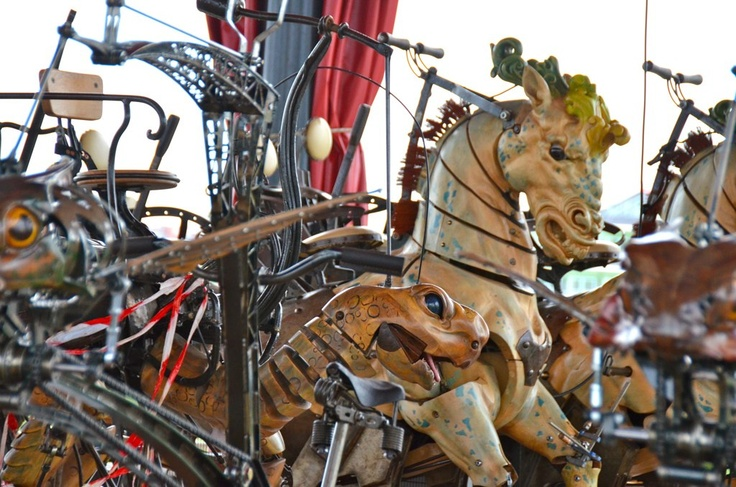Le carrousel des mondes marins carousel and rocking - Le carrousel des mondes marins ...