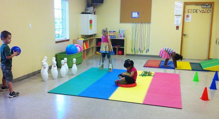 Preschool Gross Motor Room Pictures To Pin On Pinterest