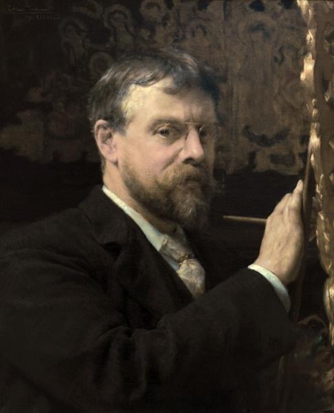 Autorretrato de Alma-Tadema