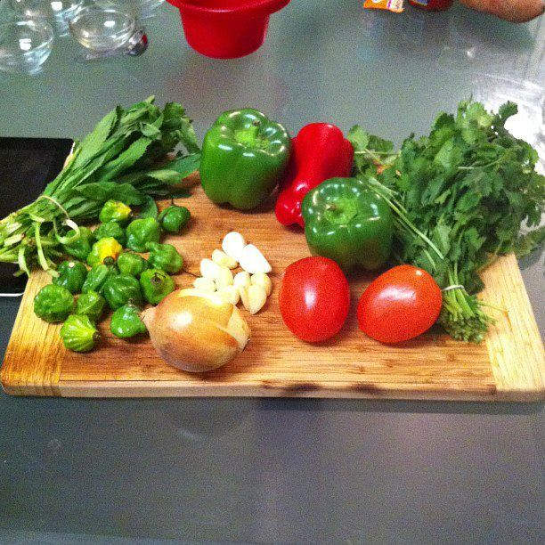 Ingredients for Puerto Rican sofrito | DIPS~JAMS~SAUCES | Pinterest
