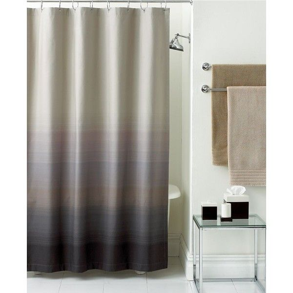 Hotel collection shower curtain ombre b a t h r o o m