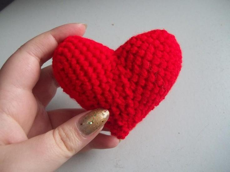 Crochet Heart | My Creations | Pinterest
