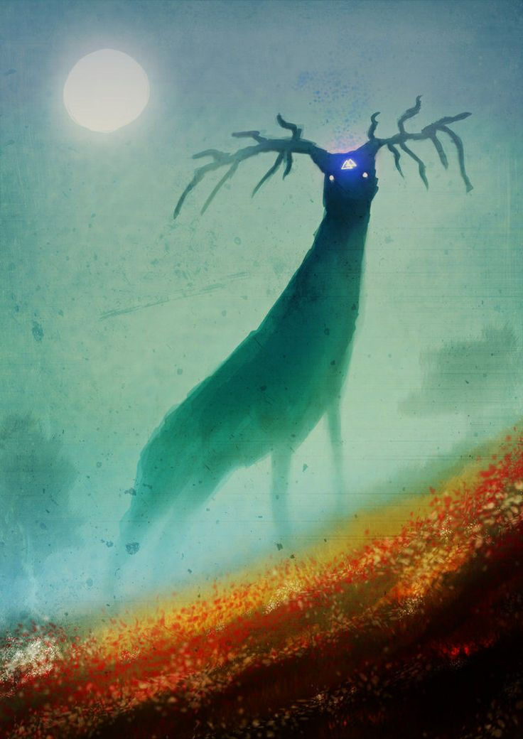 the spirit of the forest forest creature pinterest