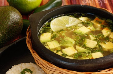 Chicken and Avocado Soup — Punchfork | Paleo | Pinterest