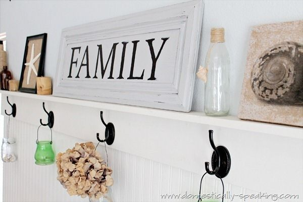 "… Making a ""Family"" Sign"