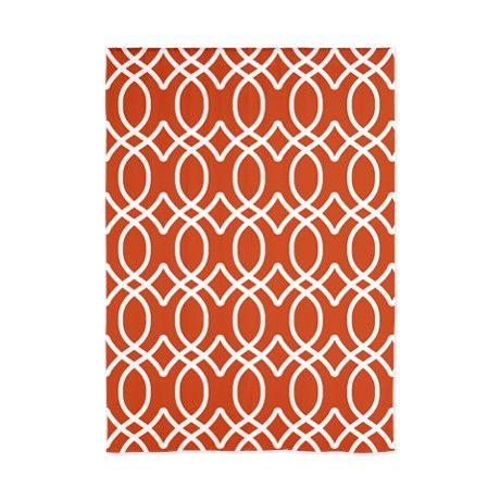 pumpkin orange ogee pattern 84 curtains on