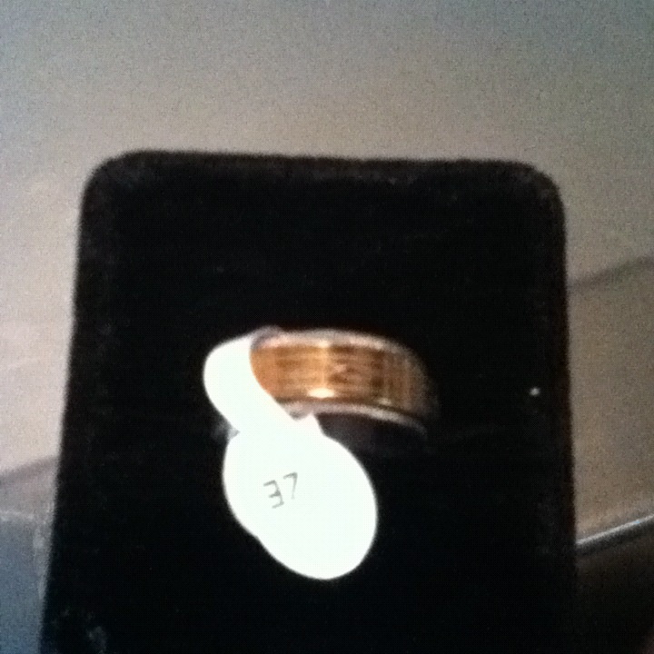 Sell for $30.00 + $5.00 shipping few man ring size 17