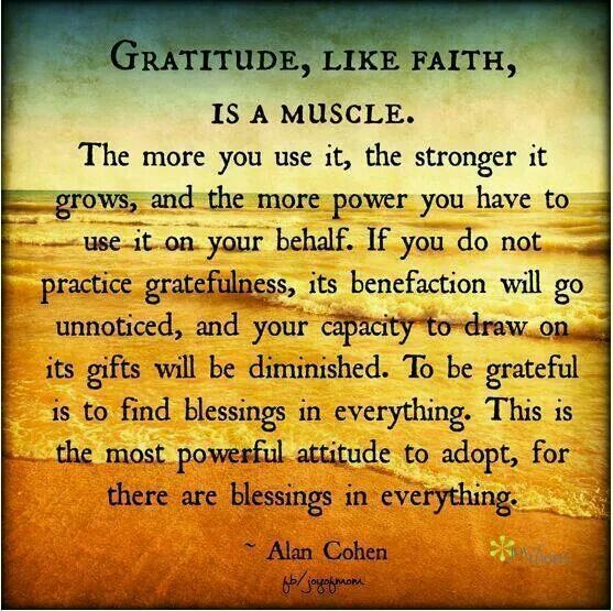 Inspirational Quotes About Gratitude. QuotesGram