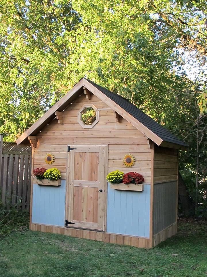 Cute Backyard Sheds : Cute garden shed  Garden Sheds  Pinterest