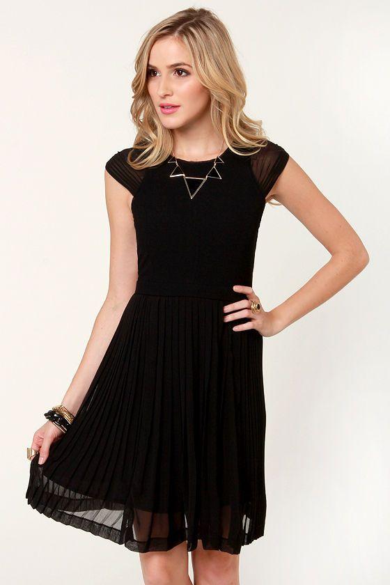 fancy black dress fashion pinterest