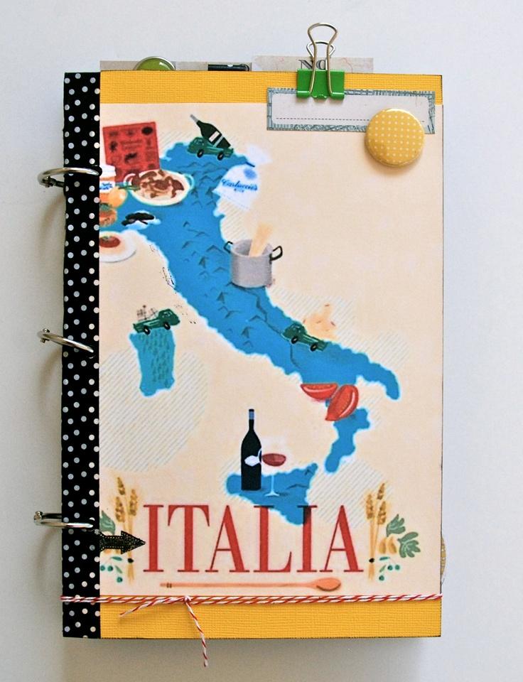 Italy Travel Journal Custom Made Vacation Journal Diary. $34.99, via Etsy.