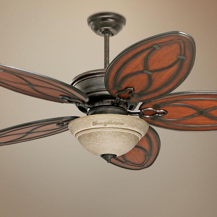 """52"""" Tommy Bahama Copa Breeze Amber Mist Light Ceiling Fan"""