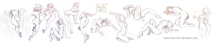 Dynamic Pose Practice by DragonOfIceAndFire on @DeviantArt ...