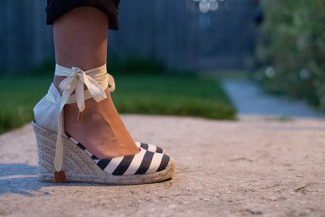 Striped Espadrilles from Khols