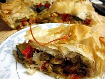 Roasted Vegetable Tart | Favorite Recipes | Pinterest