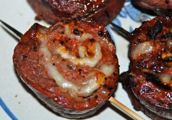 Grilled Stuffed Flank Steak | Grilling | Pinterest